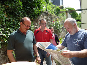 Photo: Planen für die Tour 2012