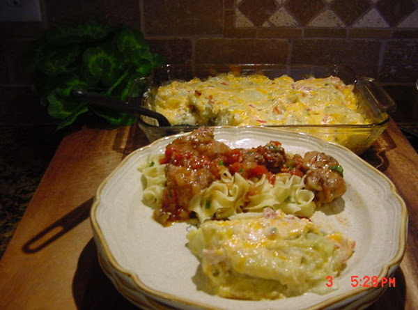 Smothered Cabbage Wedges Recipe