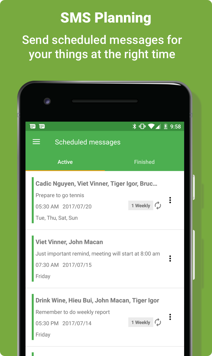Magic SMS Pro - Smart Auto Reply and Scheduled SMS Screenshot 2