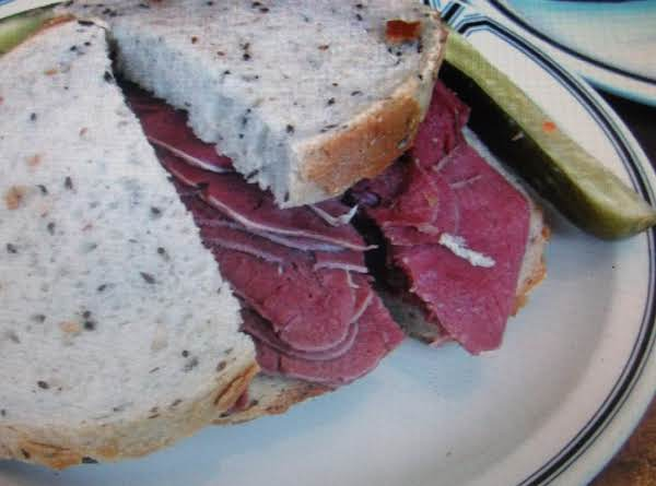 Pickled Beef Tongue Sandwich By Eddie