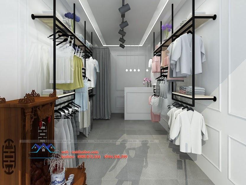 thiết kế shop thời trang L&M 2