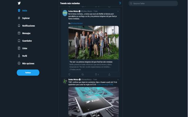 Clean UI Twitter