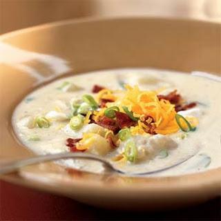 Baked Potato Soup 2 Recipes