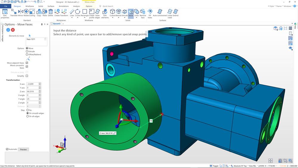 Surfcam Designer: CAD-данные для CAM-программирования
