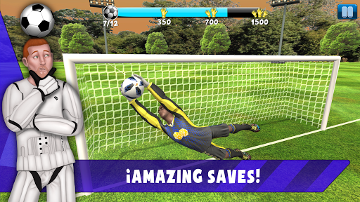 Save! Hero - Gardien de but Jeu Foot 2019  captures d'écran 2