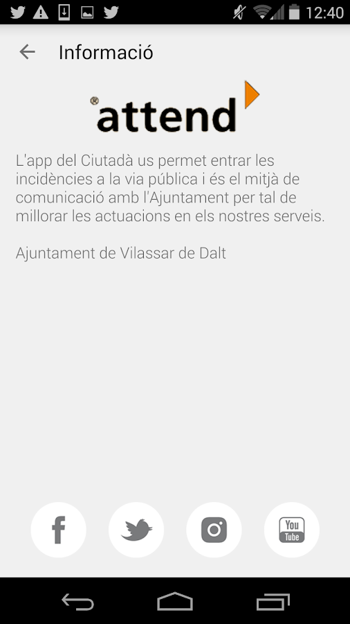 attend Vilassar de Dalt- screenshot