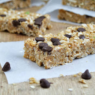 Homemade Chewy Granola Bars.