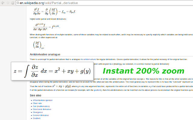 Wikipedia With Mathjax Chrome Web Store