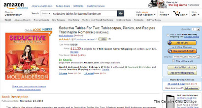 Photo: I found my Seductive Tables for Two book and it is on sale!  Don't you love it when that happens?