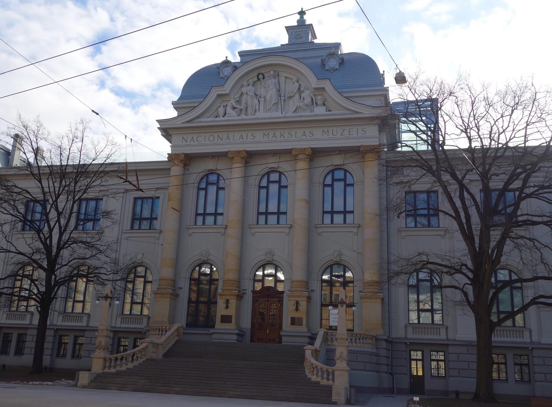 Riga - Latvian National Museum of Art