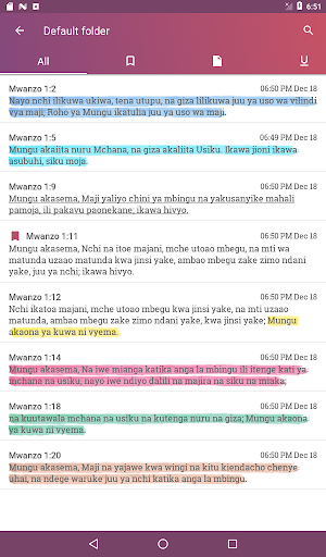 2020 Biblia Takatifu Swahili Bible Android App Download Latest