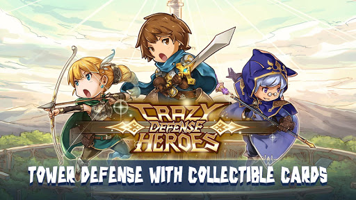 Crazy Defense Heroes: Tower Defense Strategy TD 1.9.9 screenshots 1