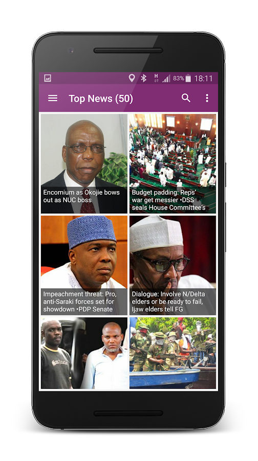 Nigerian Tribune Mobile- screenshot