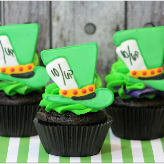 Mad Hatter Cupcakes Recipe