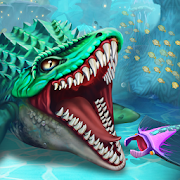 Dino Water World 3D MOD APK 1.19 (Unlimited Money)