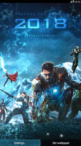 avengers live wallpaper android full version