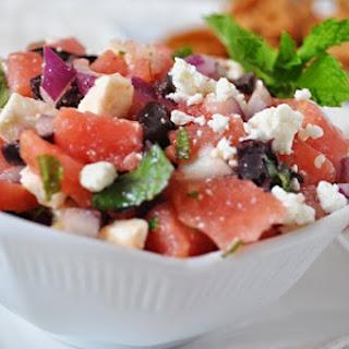 Watermelon and Feta Salsa