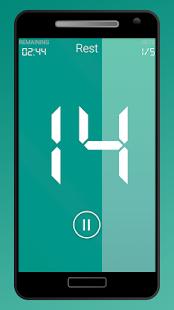 HIIT Music Interval Timer PRO - náhled