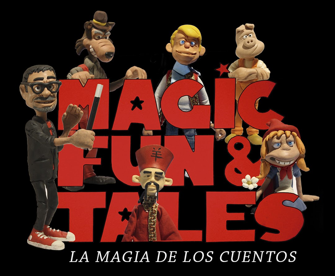 logo magic fun & tales mago madrid