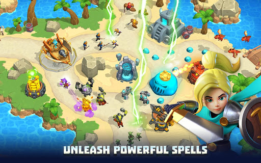 Wild Sky Tower Defense: Epic TD Legends in Kingdom apkmr screenshots 3
