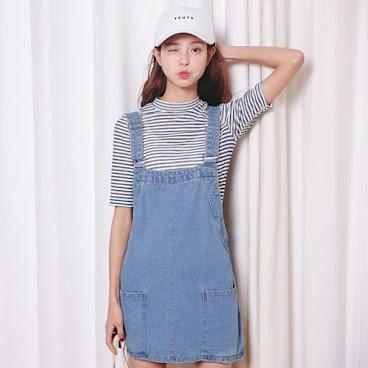 新款韓版牛仔連身裙 $149 有興趣聯絡:6991-7992