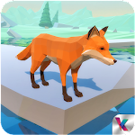 Fox Simulator Fantasy Jungle Icon