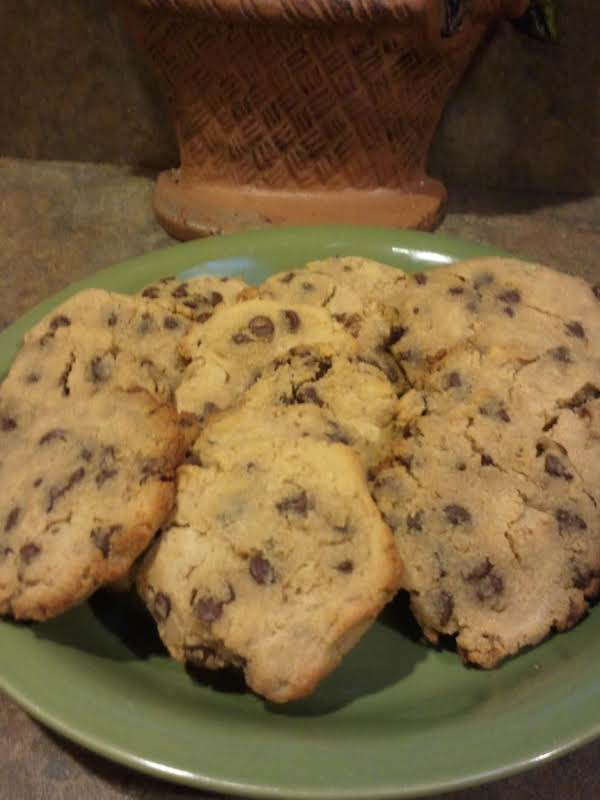 Walnut Chocolate Chip Cookies Made With Coconut Flour. Another Low Carb Alternative To Regular Chocolate Chip Cookies, Made With Coconut Flour, Splenda With Splenda Brown Sugar Blend.