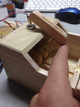 Photo: Step 6a Finger assembly fully mounted and positioned.