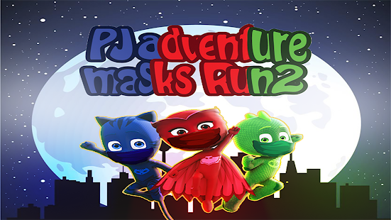 PJ adventure masks Run2 - náhled