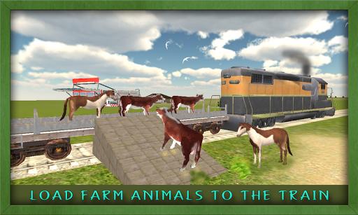 Cargo Train Animal Transporter