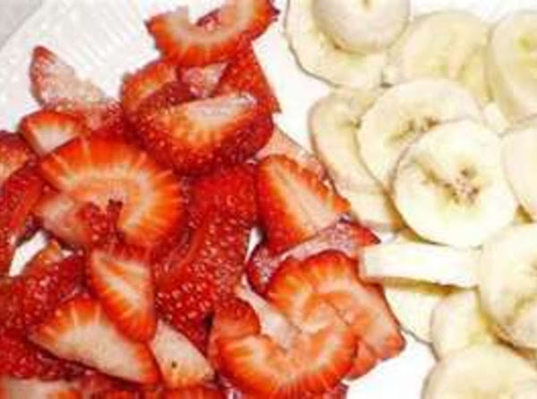 Strawberry--banana Dessert Recipe