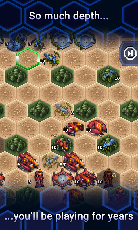 UniWar- screenshot