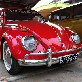 the red devil by Ardhy Muhammad - Instagram & Mobile iPhone ( automobile )