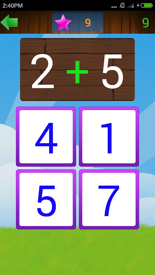 Kids Math Practice- screenshot