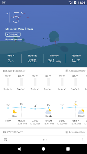 Weather Mate (Weather M8) 1.3.1 screenshots 2