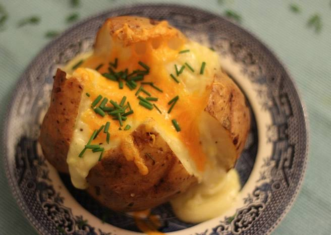 The Ultimate Baked Potato with Cheese Recipe