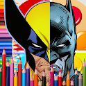 Superheroes Coloring Ultimate Edition icon