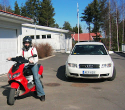 Photo: Audi A4 vuodelta 2004