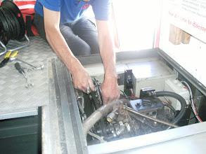 Photo: Gelukkig kon de werknemer van Bill de dynamo te repareren, het bleek een zelfde dynamo als hier op een John Deere te zitten.