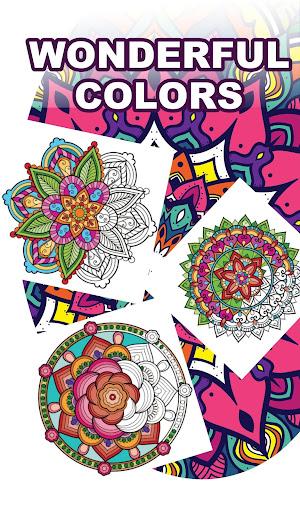 Mandala Coloring Book for Free screenshot 2