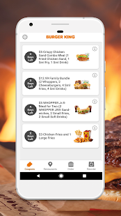 BURGER KING® App Screenshot