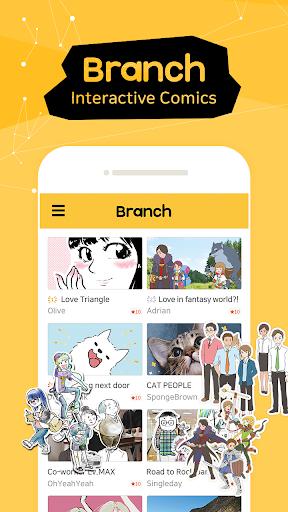 Branch - Comics, Cartoons, Webtoon and Hellopet 1.6.3 screenshots 1