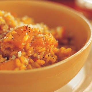 Saffron Risotto with Butternut Squash.