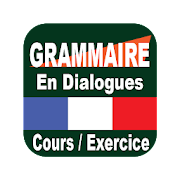 Grammar in dialogues French (without internet)