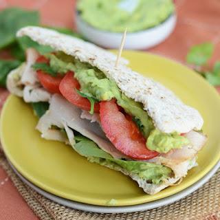 Cilantro Lime Avocado Spread.