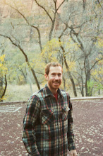 Photo: Aaron, before we start up the East Rim Trail
