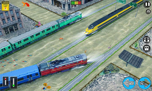 Underwater Bullet Train Simulator : Train Games 2.0.0 screenshots 3