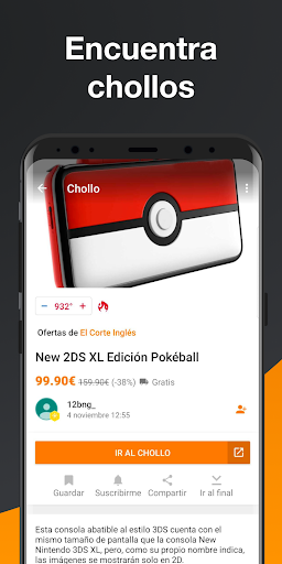 Chollometro u2013 Chollos, ofertas y cosas gratis screenshots 3