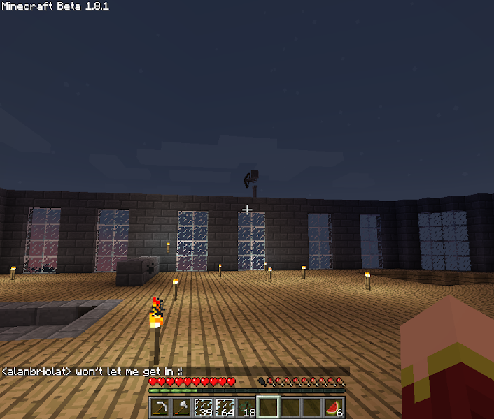 Photo: Definatly need more torches