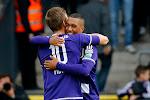 ? Praet en Tielemans vallen elkaar in de armen na goal, net zoals vier jaar geleden bij Anderlecht